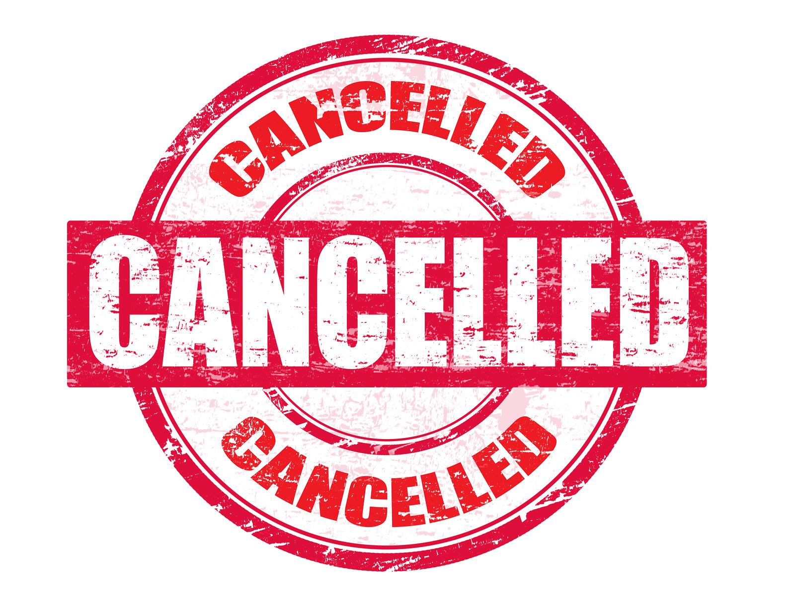 cancellation